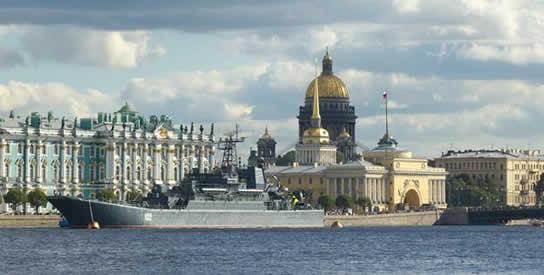 День ВМФ в Санкт-Петербурге