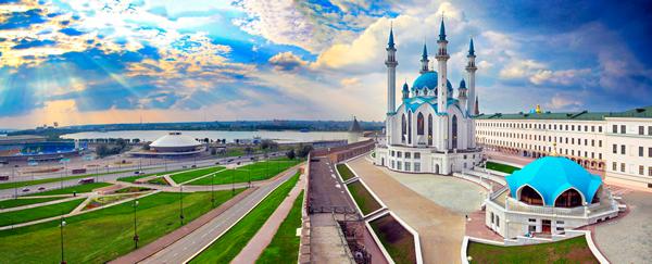 Казань / Казанский кремль и мечеть Кул-Шариф