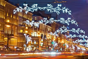 Новый Год 2016 - как Санкт-Петербург будет отмечать зимний праздник? Парад новогодних ёлок, флешмоб Дедов Морозов и Новогодний разгуляй на Дворцовой площади
