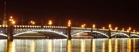 Навигация 2015 в Петербурге / График разводки мостов в навигацию 2015