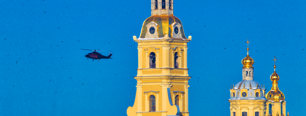 Прогулка на вертолёте в Санкт-Петербурге, или Как отдохнуть креативно